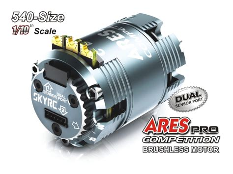 ares pro 13 5t competition brushless motor for 1 10
