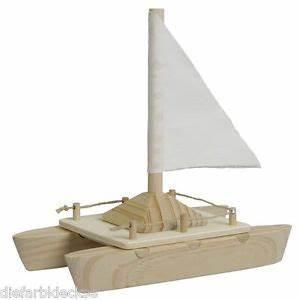 Bauen Für Kinder : katamaran bausatz holzboot boot mit segel bauen holz ~ Michelbontemps.com Haus und Dekorationen