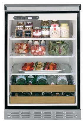 ge monogram zdodhss   outdoorindoor series stainless steel compact refrigerator