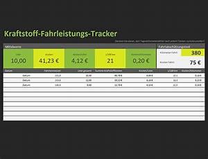 Kraftstoffkosten Berechnen : fahrtenbuch office templates ~ Themetempest.com Abrechnung