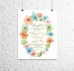 81 best kate spade inspired nursery images on pinterest With kitchen cabinets lowes with audrey hepburn quotes wall art