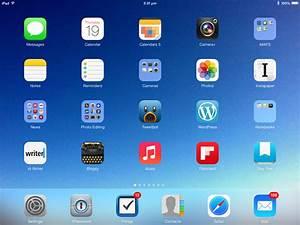 Ios7 Ipad Home Screen