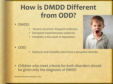 disruptive mood dysregulation disorder dmdd