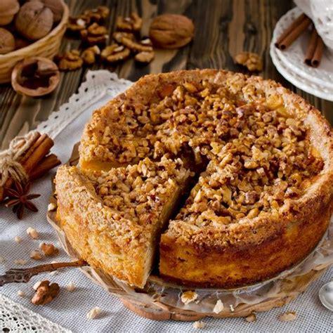 recette cuisine minceur recette gâteau aux pommes et noix