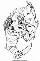 Trollhunters Amulet Gunmar sketch template