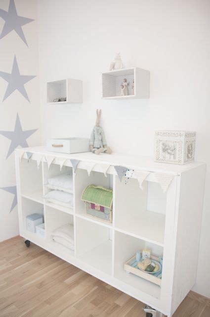 babykamer met sterren ikea kast als commode kids