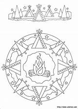 Mandala Coloriez Coloring sketch template