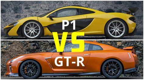 2018 Mclaren P1 Vs Nissan Gt-r || Visual Design Comparison
