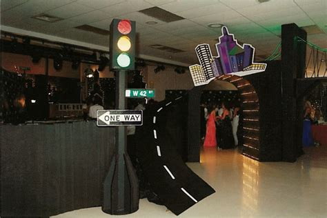 Used Prom Decorations - how to use corrugated paper for homecoming and prom