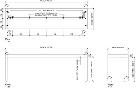 standard bench height standard bench depth mariaalcocer