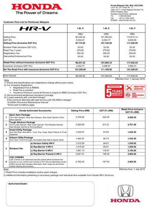 honda malaysia hikes prices  january   full