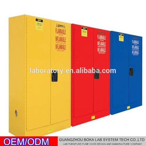 flammable fireproof chemical safety cabinet for school