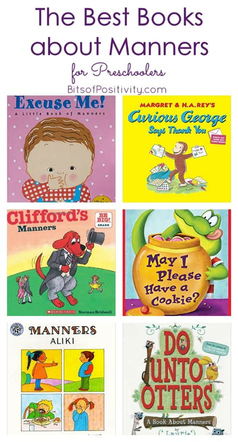 the best books about manners for preschoolers bits of 516 | The Best Books about Manners for Preschoolers