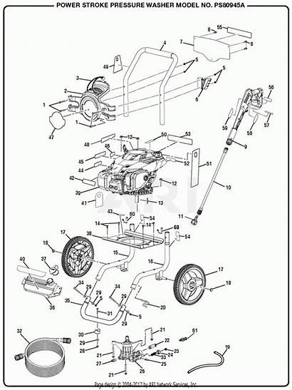 Washer Pressure Psi 3100 Powerstroke Parts Homelite