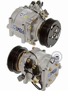 New Ac A  C Compressor Fits  2001 2002 01 02 Honda Civic L4