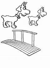 Coloring Billy Gruff Goats Goat Three Troll Clip Printables Felt Archjrc Children Preschool Library Place Clipart Child Fairy Teacher Popular sketch template