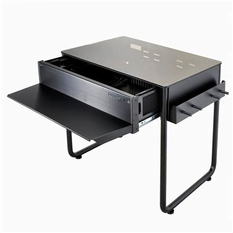 lian li dk 02 computer desk lian li introduces the dk01 dk02 desktop table chassis nag
