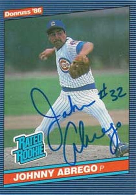 johnny abrego baseball stats  baseball almanac