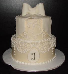 lace bridal shower cake With images of wedding shower cakes