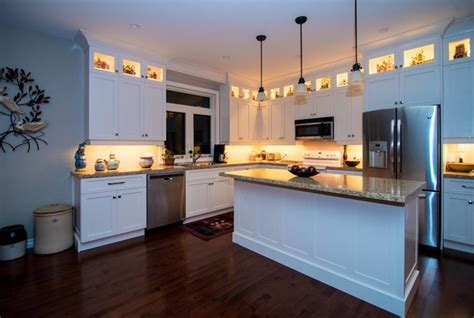 Open Concept Contemporary Modern Country Bungalow Kitchen