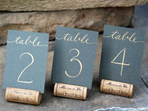 21 Diy Wedding Table Number Ideas Diy