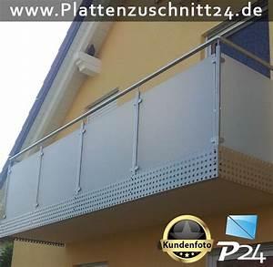Balkonverkleidung Kunststoff Preise : balkonverkleidung mit plexiglas satiniert ~ Watch28wear.com Haus und Dekorationen