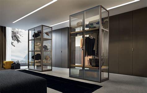 Glass Wardrobe by Fitted Wardrobe By Poliform Design Rodolfo Dordoni