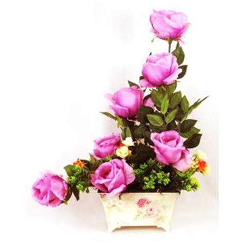 Flower Bouquet Roses all the Way   Pink   Artifical
