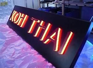 china diy led backlit channel letter sign led letter sign With light box letter sign