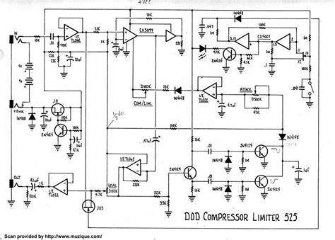 diy guitar compressor pedal schematic diydrywalls org