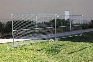 Chain Link Fencing Town & Country Event Rentals