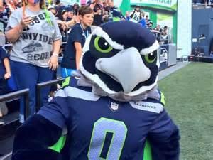 Seattle Seahawks Mascot Blitz