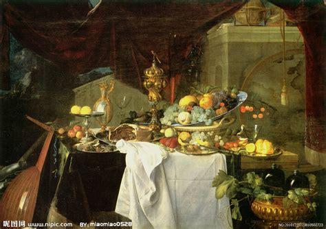 la table a dessert 国外静物油画设计图 绘画书法 文化艺术 设计图库 昵图网nipic