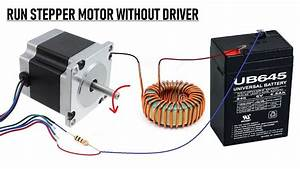 Wow    Run Stepper Motor Without A Driver Circuit