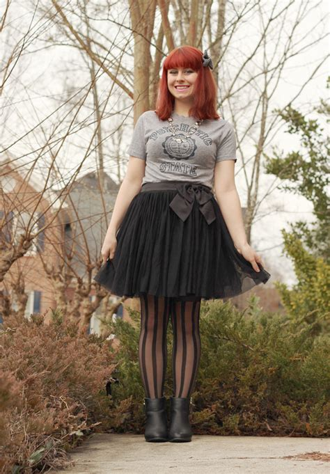 casual  years eve outfit vintage  shirt tulle skirt