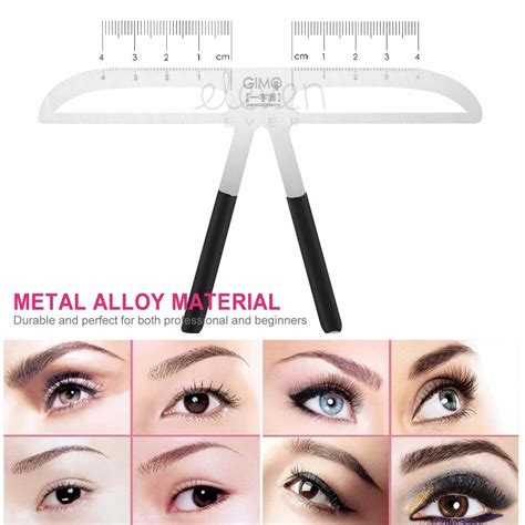 The eyebrow shaping stencils was not a good purchase it's too far from the eyebrow to trace. Grooming Stencil Kit MakeUp Shaping DIY Beauty Eyebrow ...