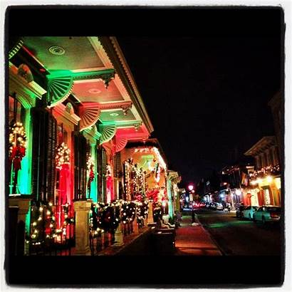 Orleans Christmas French Things Quarter December Louisiana
