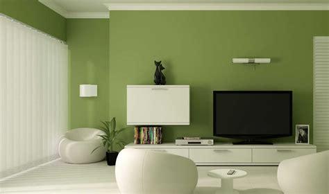 interior desain ruang tamu warna hijau muda
