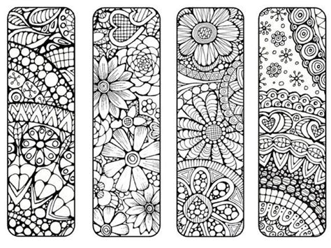bookmarks to print and color bookmark by