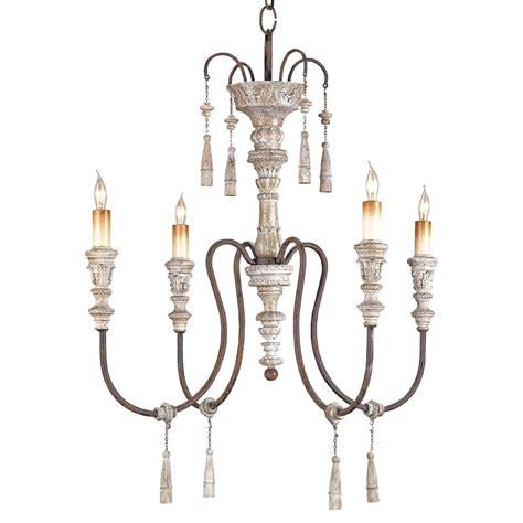 katrine gustavian iron and wood chandelier 22 inch
