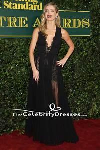 Annabelle Wallis Black Evening Gown London Evening ...