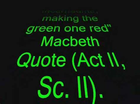 important quotes  macbeth youtube