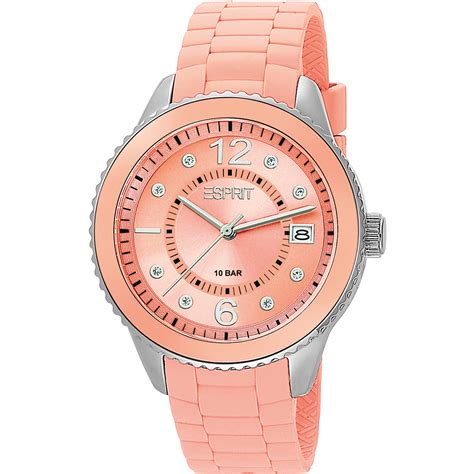 Esprit Es105342010 Ladies Watch  Marin 68 Peach. Twig Engagement Rings. Rose Gold And Silver Mens Wedding Band. 24 K Rings. Scintillation Diamond. Cuff Bracelet Silver. Brother Diamond. Heart Shape Lockets. White Gold Band Womens