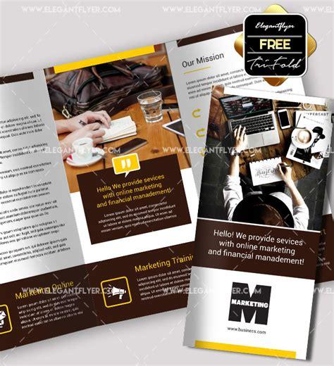 Marketing Free Tri Fold Psd Brochure Template By 70 Premium Free Business Brochure Templates Psd To