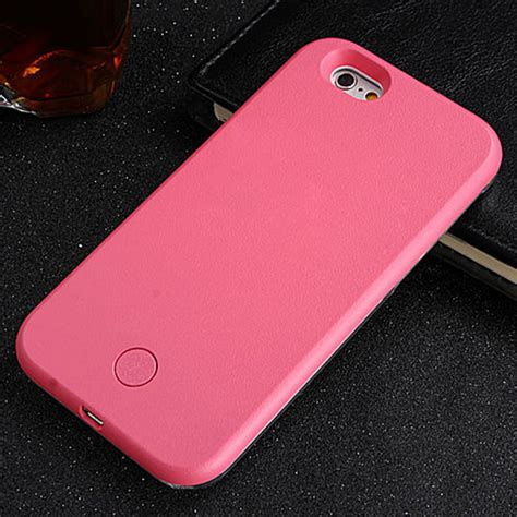 led iphone 5s luxury 2016 led light up selfie phone back cover for