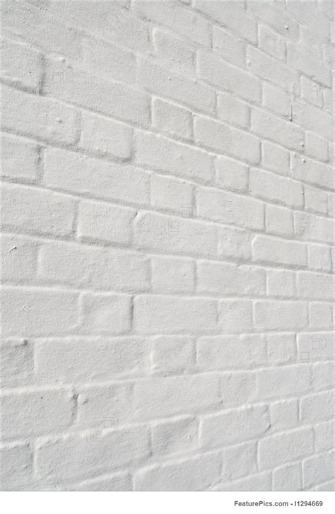 texture white painted brick wall background stock