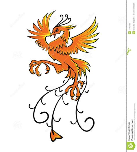 Recently the new phoenix animal was added to mope! Phoenix stock vector. Illustration of animal, symbol ...