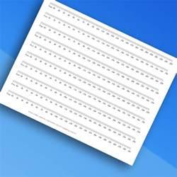 Printable Millimeter Ruler to Measure Glasses