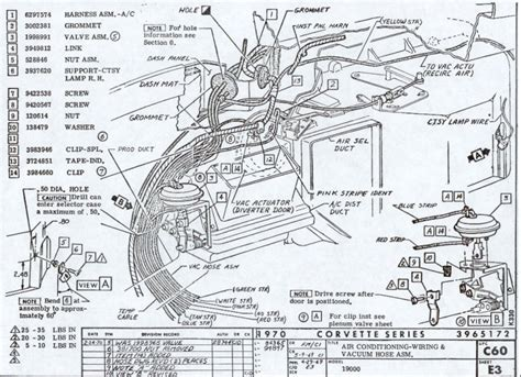 1968 Corvette Heater Wiring Diagram by Wiring Diagram For 1958 1959 Chevrolet Corvette 60653