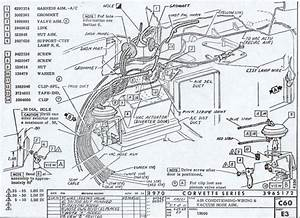 Wiring Diagram For 1958 1959 Chevrolet Corvette  60653
